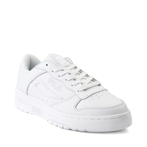alternate view Womens Fila LNX 100 Athletic Shoe - White MonochromeALT5