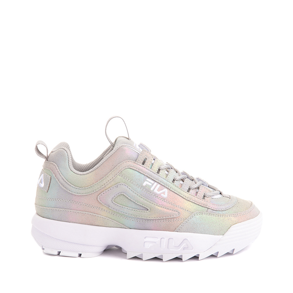Womens Fila Disruptor Athletic Shoe - Prism Gray