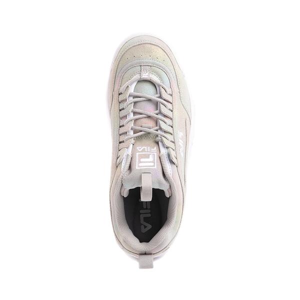 alternate view Womens Fila Disruptor Athletic Shoe - Prism GrayALT2