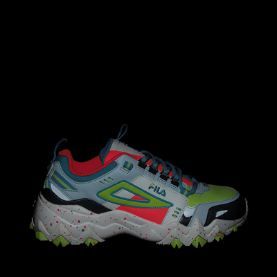 Alternate view of Womens Fila Oakmont TR Athletic Shoe - Silver Birch / Diva Pink / Lime Punch