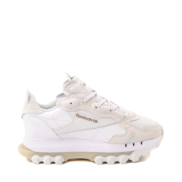 Main view of Womens Reebok x Cardi B Classic Leather Athletic Shoe - White