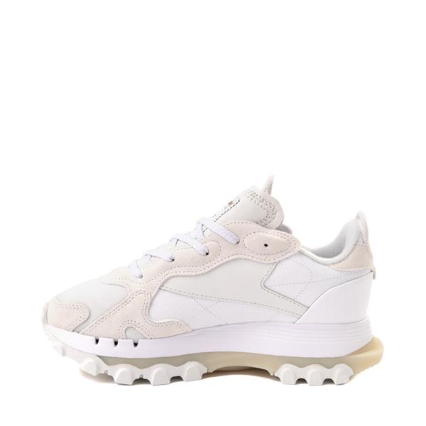 alternate view Womens Reebok x Cardi B Classic Leather Athletic Shoe - WhiteALT1
