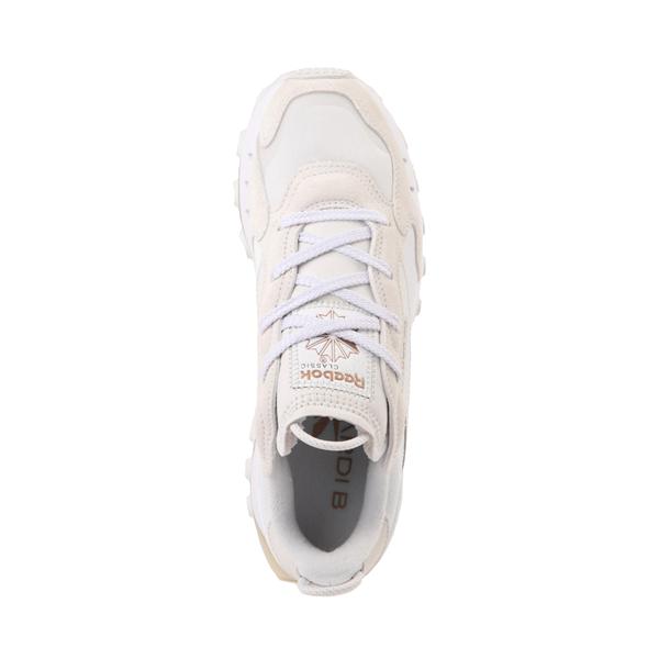 alternate view Womens Reebok x Cardi B Classic Leather Athletic Shoe - WhiteALT2