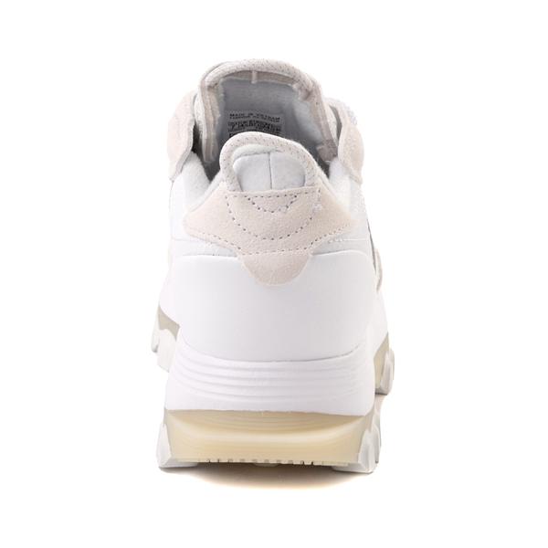 alternate view Womens Reebok x Cardi B Classic Leather Athletic Shoe - WhiteALT4