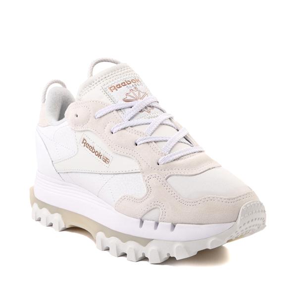 alternate view Womens Reebok x Cardi B Classic Leather Athletic Shoe - WhiteALT5