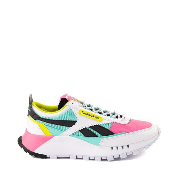 Womens Reebok Classic Legacy Athletic Shoe - White / Pink / Mint