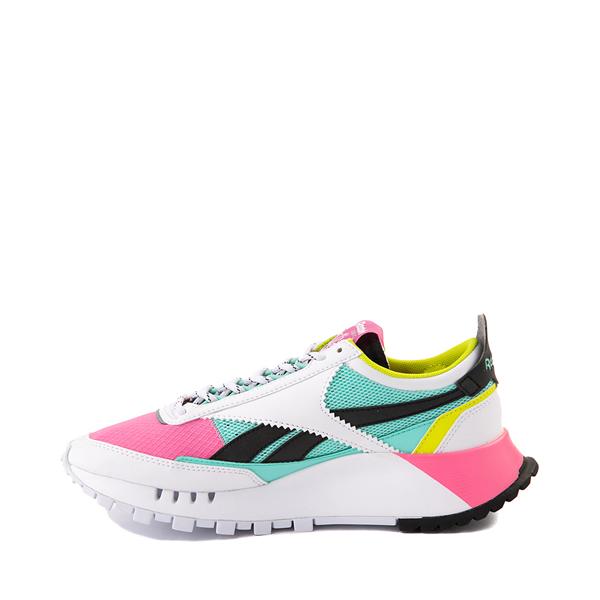 alternate view Womens Reebok Classic Legacy Athletic Shoe - White / Pink / MintALT1