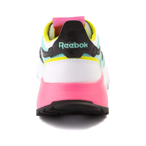 alternate view Womens Reebok Classic Legacy Athletic Shoe - White / Pink / MintALT4