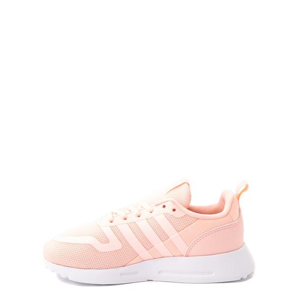 alternate view adidas Multix Athletic Shoe - Little Kid - CoralALT1