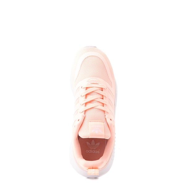 alternate view adidas Multix Athletic Shoe - Little Kid - CoralALT2