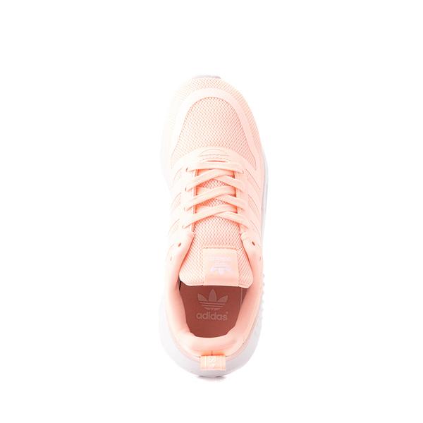 alternate view adidas Multix Athletic Shoe - Big Kid - CoralALT2