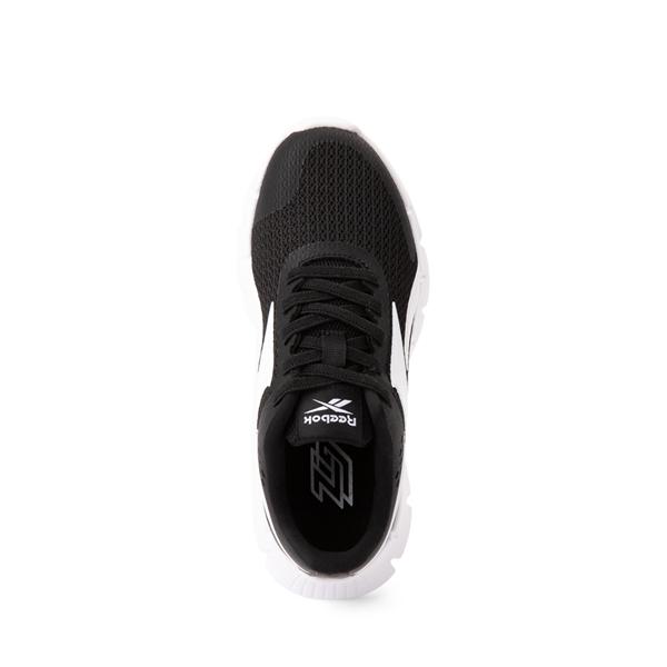 alternate view Reebok Zig Dynamica Athletic Shoe - Little Kid - BlackALT2