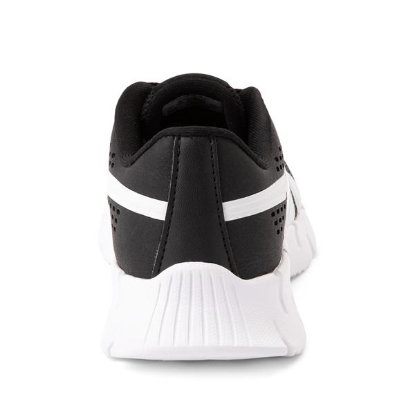 alternate view Reebok Zig Dynamica Athletic Shoe - Little Kid - BlackALT4
