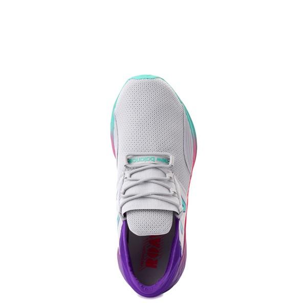 alternate view New Balance Fresh Foam Roav Athletic Shoe - Big Kid - Gray / MulticolorALT2