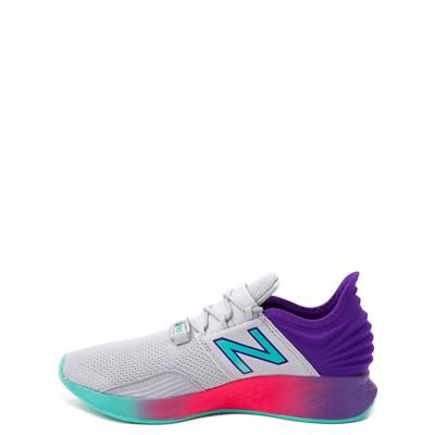 Alternate view of New Balance Fresh Foam Roav Athletic Shoe - Big Kid - Gray / Multicolor