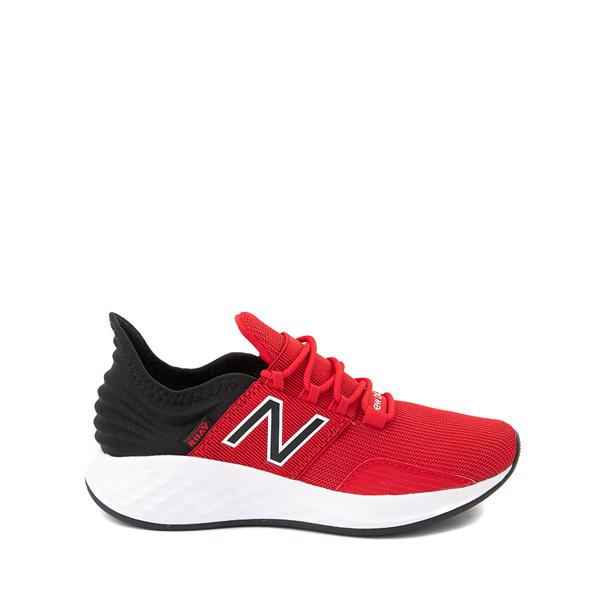 Main view of New Balance Fresh Foam Roav Athletic Shoe - Big Kid - Red