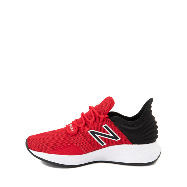 alternate view New Balance Fresh Foam Roav Athletic Shoe - Big Kid - RedALT1