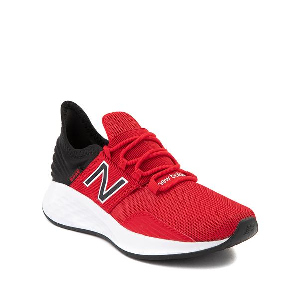 alternate view New Balance Fresh Foam Roav Athletic Shoe - Big Kid - RedALT5