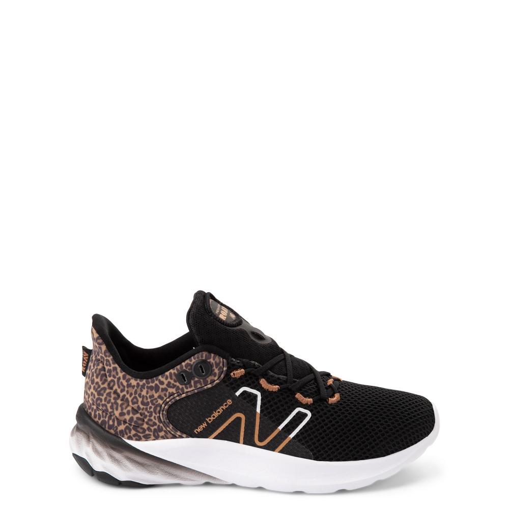 New Balance Fresh Foam Roav Athletic Shoe - Little Kid - Black / Leopard