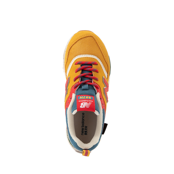 alternate view New Balance 997H Athletic Shoe - Little Kid / Big Kid - Yellow / MulticolorALT2