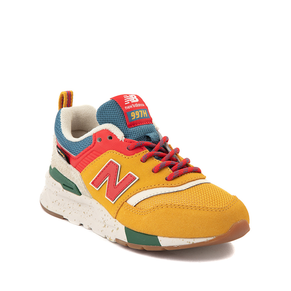 alternate view New Balance 997H Athletic Shoe - Little Kid / Big Kid - Yellow / MulticolorALT5