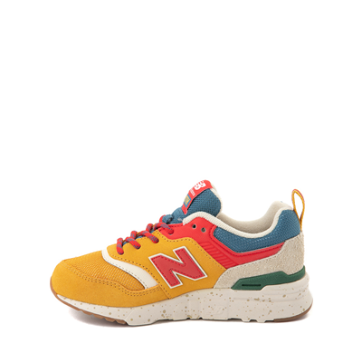 Alternate view of New Balance 997H Athletic Shoe - Big Kid - Yellow / Multicolor