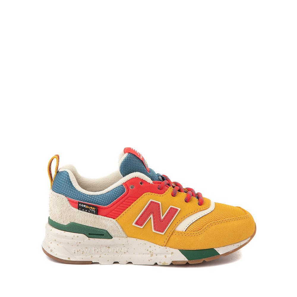 New Balance 997H Athletic Shoe - Big Kid - Yellow / Multicolor