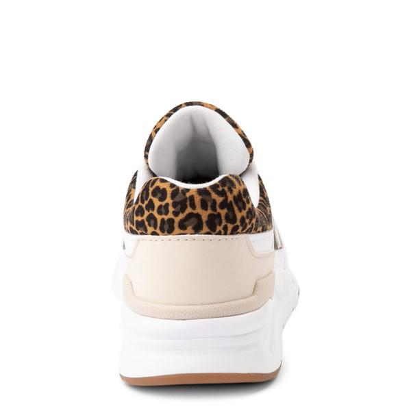 alternate view New Balance 997H Athletic Shoe - Little Kid - White / LeopardALT4