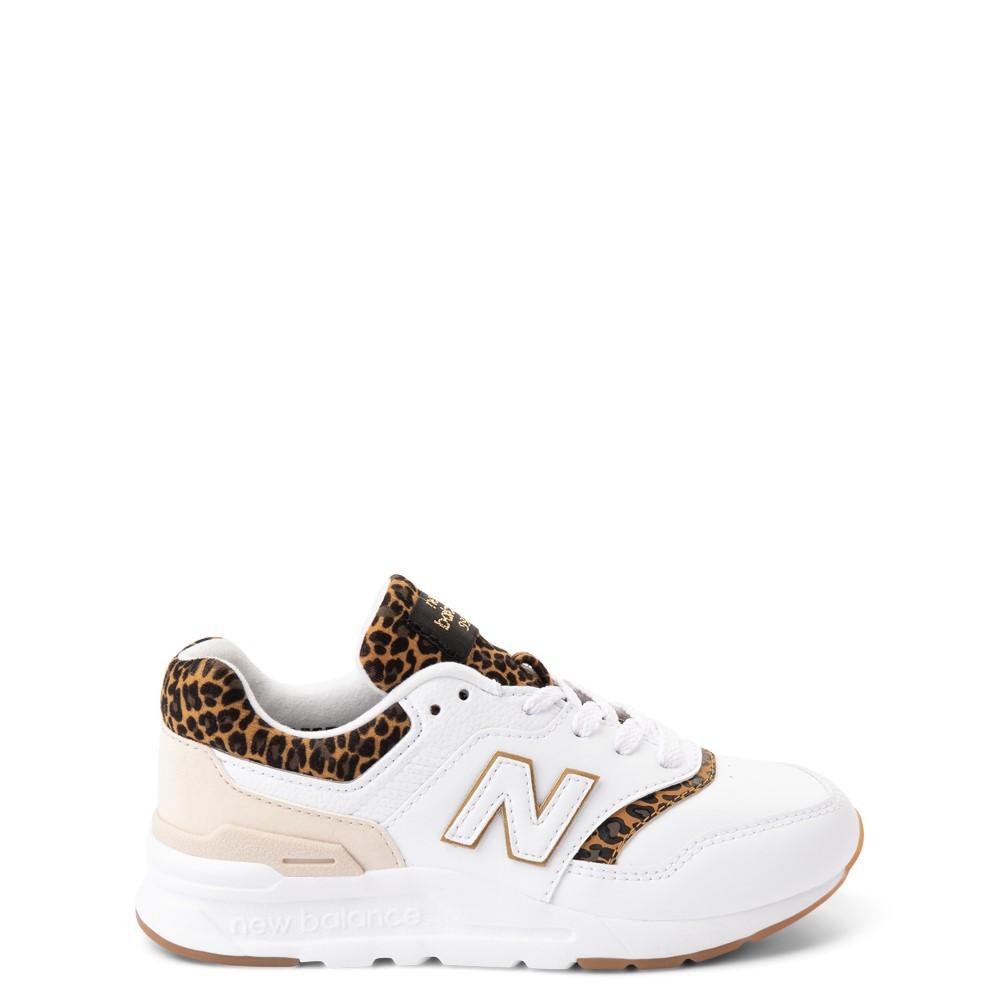 New Balance 997H Athletic Shoe - Little Kid - White / Leopard