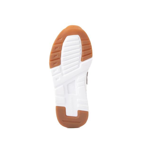alternate view New Balance 997H Athletic Shoe - Big Kid - White / LeopardALT3