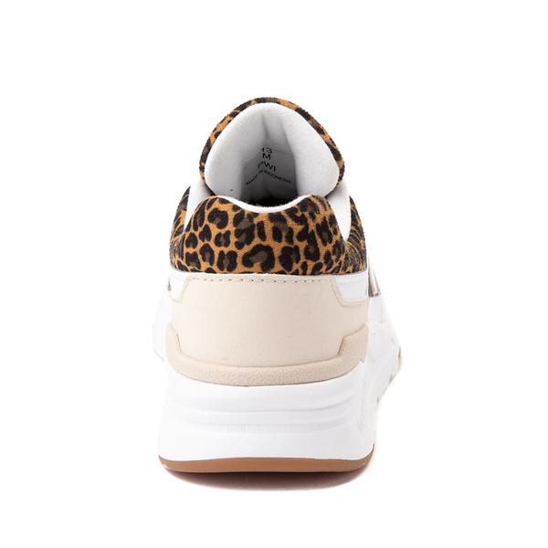 alternate view New Balance 997H Athletic Shoe - Big Kid - White / LeopardALT4