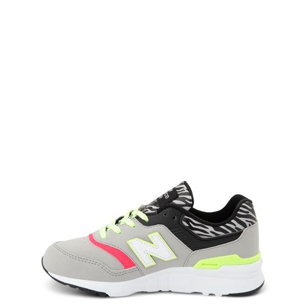 alternate view New Balance 997H Athletic Shoe - Little Kid - Gray / ZebraALT1