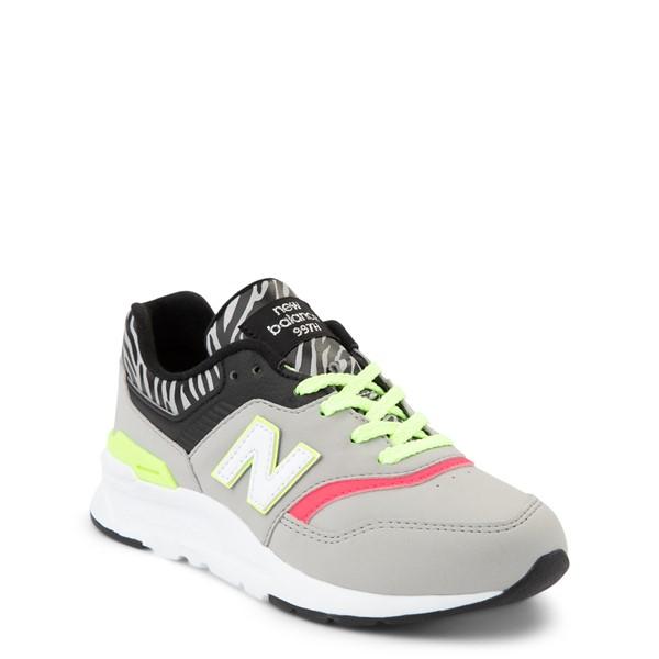 alternate view New Balance 997H Athletic Shoe - Little Kid - Gray / ZebraALT5