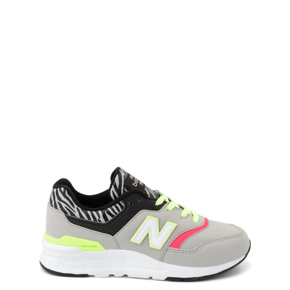 New Balance 997H Athletic Shoe - Little Kid - Gray / Zebra