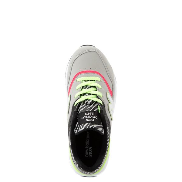 alternate view New Balance 997H Athletic Shoe - Big Kid - Gray / ZebraALT2