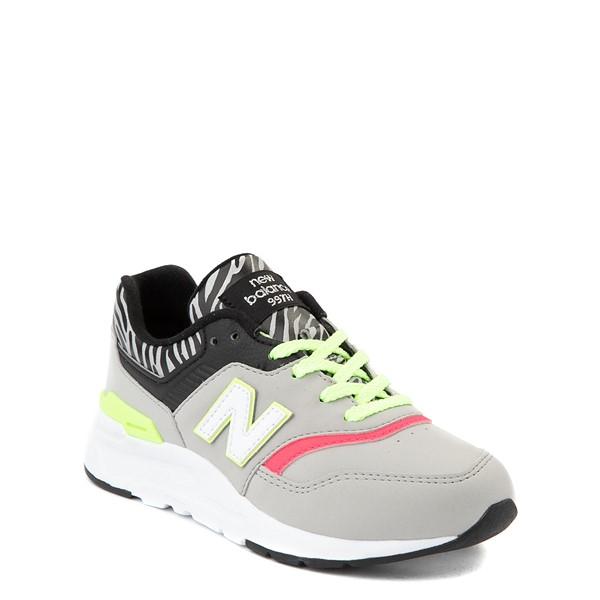 alternate view New Balance 997H Athletic Shoe - Big Kid - Gray / ZebraALT5