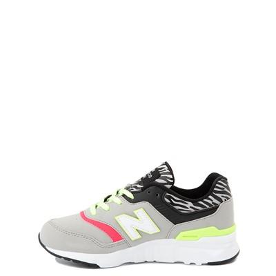 Alternate view of New Balance 997H Athletic Shoe - Big Kid - Gray / Zebra