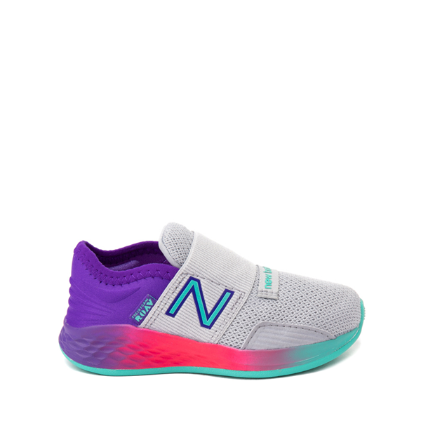 New Balance Fresh Foam Roav Slip On Athletic Shoe - Baby / Toddler - Gray / Multicolor