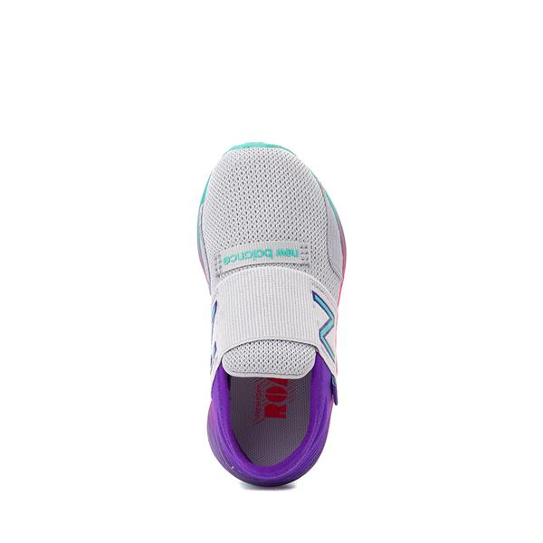alternate view New Balance Fresh Foam Roav Slip On Athletic Shoe - Baby / Toddler - Gray / MulticolorALT2
