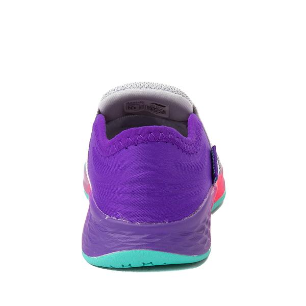 alternate view New Balance Fresh Foam Roav Slip On Athletic Shoe - Baby / Toddler - Gray / MulticolorALT4