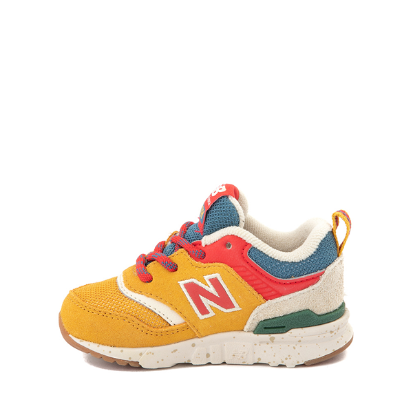 alternate view New Balance 997H Athletic Shoe - Baby / Toddler - Yellow / MulticolorALT1