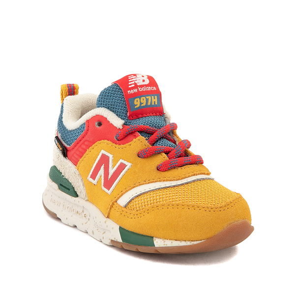 alternate view New Balance 997H Athletic Shoe - Baby / Toddler - Yellow / MulticolorALT5