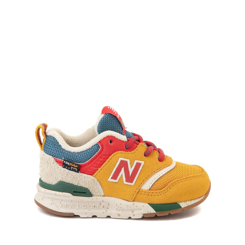 New Balance 997H Athletic Shoe - Baby / Toddler - Yellow / Multicolor