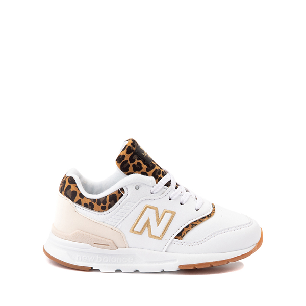 New Balance 997H Athletic Shoe - Baby / Toddler - White / Leopard