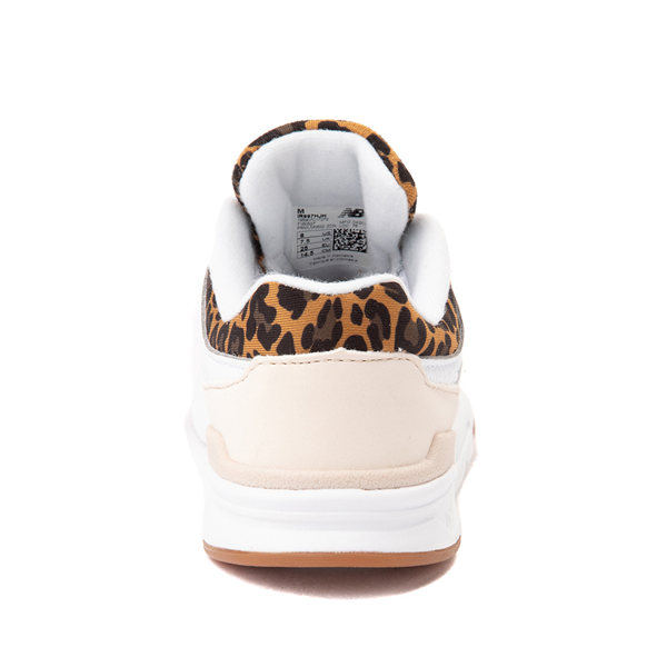 alternate view New Balance 997H Athletic Shoe - Baby / Toddler - White / LeopardALT4