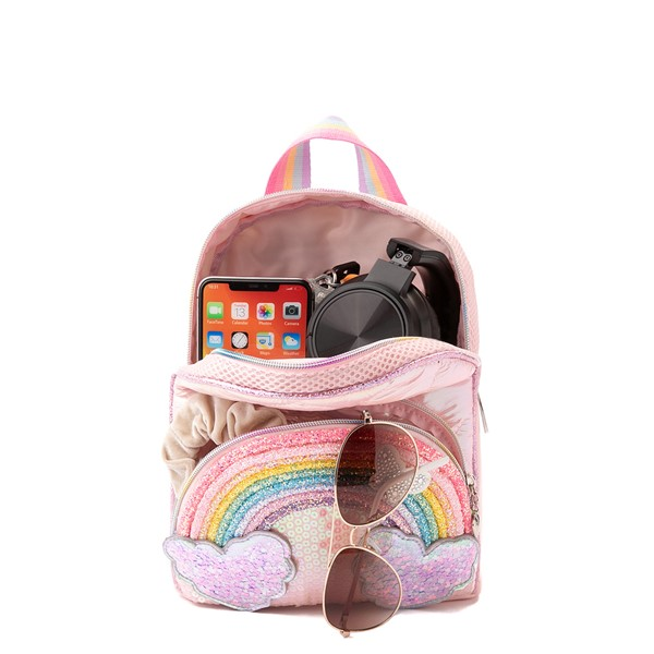 alternate view Rainbow Mini Backpack - PinkALT1