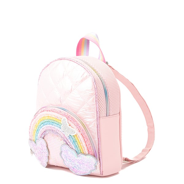 alternate view Rainbow Mini Backpack - PinkALT4