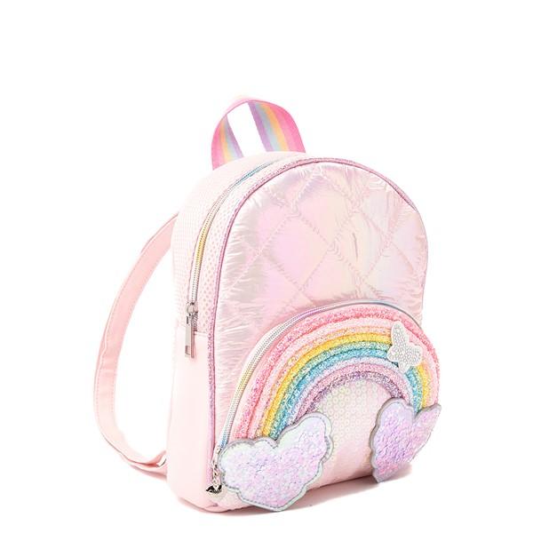 alternate view Rainbow Mini Backpack - PinkALT4B