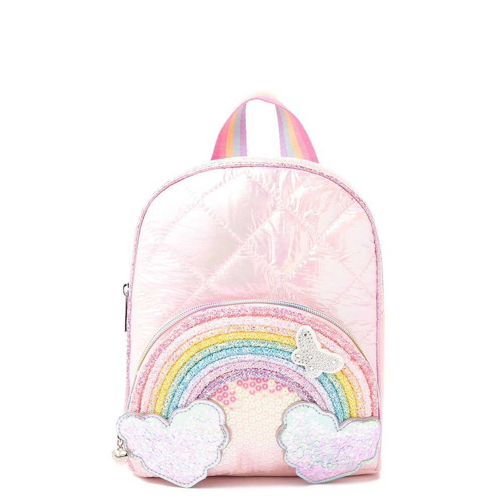Rainbow Mini Backpack - Pink