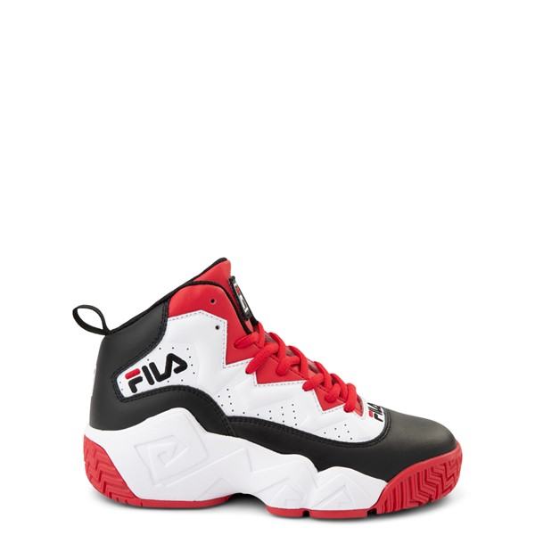 Fila MB Athletic Shoe - Big Kid - White / Black / Red